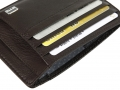 AW415BW - AVENUE DOC & CREDIT CARD HOLDER BROWN