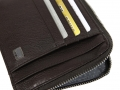 AV422BW - AVENUE DOC & CREDIT CARD WITH ZIP BROWN