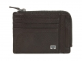 AV422BW - AVENUE DOC & CREDIT CARD WITH ZIP BROWN 66