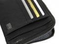 AV422N - AVENUE DOC & CREDIT CARD WITH ZIP BLACK