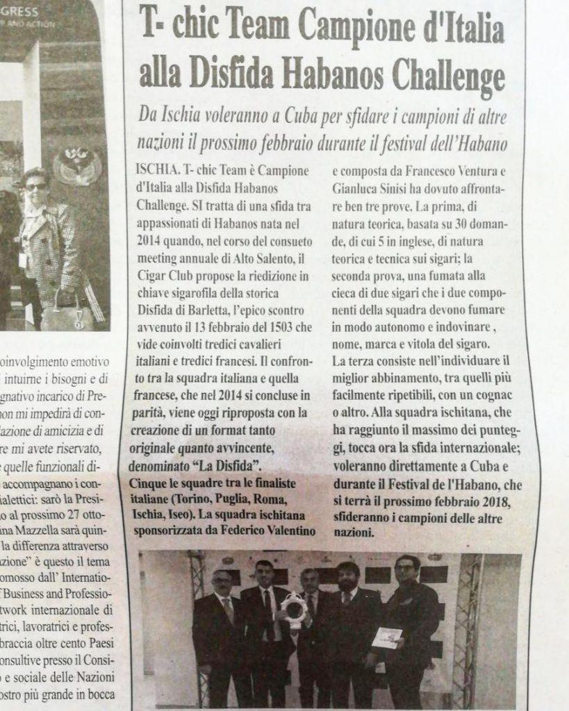 Tchic Team Campione dItalia ora Cuba ci attende per lahellip